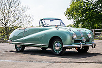 BNPS.co.uk (01202 558833)<br /> Pic: SilverstoneAuctions/BNPS<br /> <br /> 1950 Austin A90 Convertible<br /> <br /> A quirky collection of rare and unusual cars is set to go under the hammer for more than £300,000.<br /> <br /> The group of 16 classic motors range from hand-built replica racing cars to barely used family saloons.<br /> <br /> They are currently owned by an esteemed British collector but have now been consigned to sale with Silverstone Auctions of Ashorne, Warwicks.