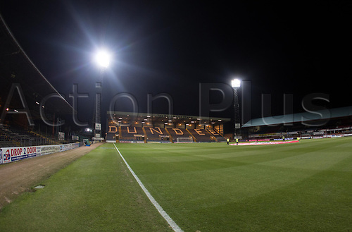 8th December 2017, Dens Park, Dundee, Scotland; Scottish Premier League football, Dundee versus Aberdeen; General view of Dens Park, home of Dundee