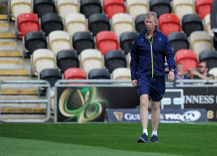 Leinster's Head Coach Leo Cullen<br /> <br /> Photographer Ashley Crowden/CameraSport<br /> <br /> Guinness Pro14 Round 1 - Dragons v Leinster Rugby - Saturday 2nd September 2017 - Rodney Parade - Newport, Wales<br /> <br /> World Copyright &copy; 2017 CameraSport. All rights reserved. 43 Linden Ave. Countesthorpe. Leicester. England. LE8 5PG - Tel: +44 (0) 116 277 4147 - admin@camerasport.com - www.camerasport.com