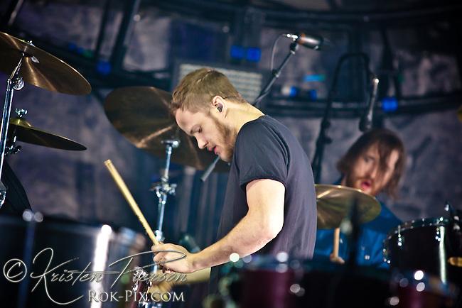 Imagine Dragons perform at Mohegan Sun Arena