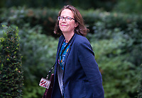 Lord Privy Seal and Leader of the House of Lords Baroness Natalie Evans arrives for the cabinet meeting at 10 Downing street