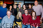 Kevin Slattery, Causeway, seated front, celebrated his 21st birthday last Saturday night in the Grand Hotel, Tralee, also seated L-R Paddy, Patrice and Annmarie Slattery, Back L-R Nelius&Sharon Slattery, Kathleen O'Carroll, Denis&Paula Slattery with Noranne&Paul McCarthy.