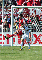 30 March 2013:Toronto FC defender Darren O'Dea #48 and Los Angeles Galaxy midfielder Landon Donovan #10 in action during an MLS game between the LA Galaxy and Toronto FC at BMO Field in Toronto, Ontario Canada..The game ended in a 2-2 draw..