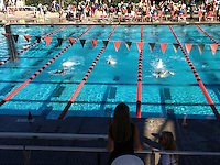 The Harker School - MS - Middle School - Harker MS Swim Meet photos - Photo by Mark Basinski, parent