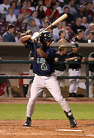 August 30, 2003:  Mario Mendez of the Beloit Snappers during a game at Fifth Third Field in Dayton, Ohio.  Photo by:  Mike Janes/Four Seam Images