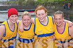 CREW: Sive U-18 crew members Catriona Morris, Ann Marie OSullivan, Sinead OSullivan and Sinead.Stretton who competed in the Caherciveen Regatta last Saturday.
