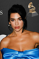 BEVERLY HILLS, CA- FEBRUARY 09: Dua Lipa at the Clive Davis Pre-Grammy Gala and Salute to Industry Icons held at The Beverly Hilton on February 9, 2019 in Beverly Hills, California.      <br /> CAP/MPI/IS<br /> &copy;IS/MPI/Capital Pictures