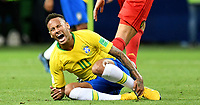 KAZAN - RUSIA, 06-07-2018: NEYMAR jugador de Brasil en acción durante partido de cuartos de final entre Brasil y Bélgica por la Copa Mundial de la FIFA Rusia 2018 jugado en el estadio Kazan Arena en Kazán, Rusia. / NEYMAR player of Brazil in action during the match between Brazil and Belgium of quarter final for the FIFA World Cup Russia 2018 played at Kazan Arena stadium in Kazan, Russia. Photo: VizzorImage / Julian Medina / Cont