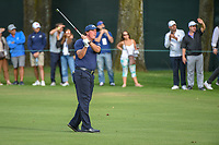 Phil Mickelson (USA) watches his approach shot on 16 during round 2 of the World Golf Championships, Mexico, Club De Golf Chapultepec, Mexico City, Mexico. 2/22/2019.<br /> Picture: Golffile | Ken Murray<br /> <br /> <br /> All photo usage must carry mandatory copyright credit (&copy; Golffile | Ken Murray)