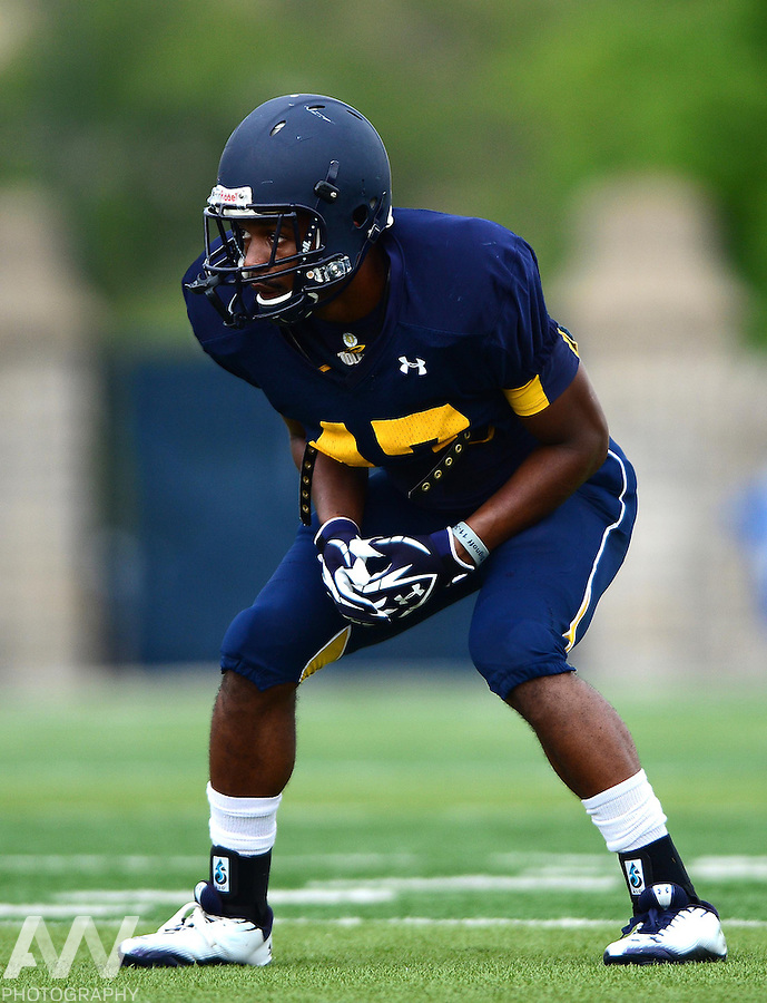 Aug 15, 2012; Toledo, OH, USA; Toledo Rockets defensive back Noah Key (47) during practice at the Glass Bowl. Mandatory Credit: Andrew Weber-US Presswire