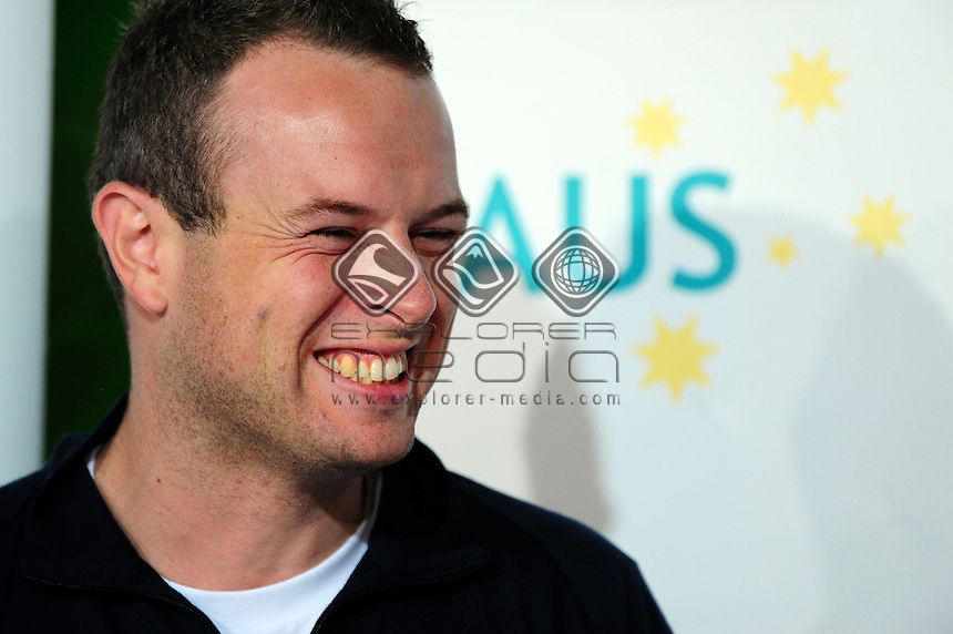 Michael Hartung - Chef de Mission<br /> Australian Press Conference March 12th<br /> Paralympics - Winter / Vancouver 2010<br /> Vancouver Canada 12 - 22 March<br /> &copy; Sport the library/Jeff Crow