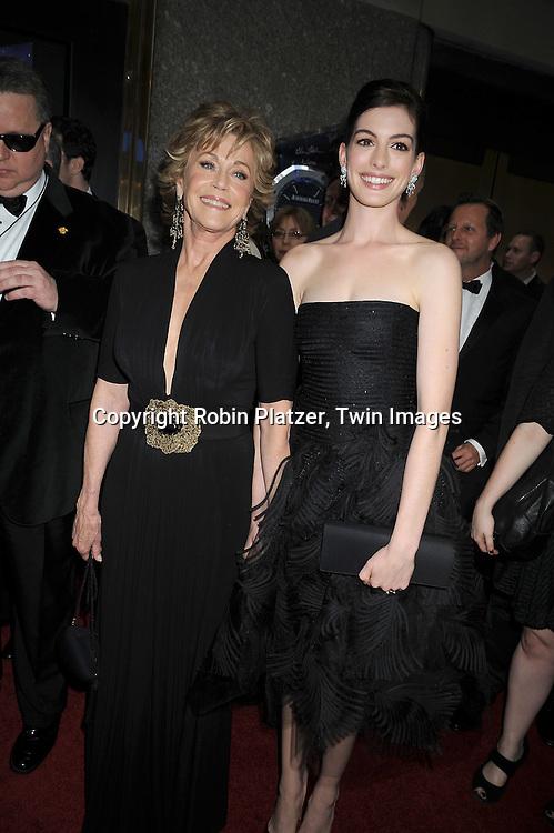 Jane Fonda and Anne Hathaway