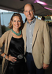 Chairs Alie and David Pruner at the Nature Conservancy's Nature Rocks  Gala at the Houston Polo Club Thursday Oct. 22,2015.(Dave Rossman photo)