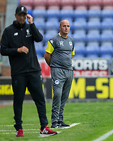 Wigan Athletic Manager Paul Cook during the pre season friendly match between Wigan Athletic and Liverpool at the DW Stadium, Wigan, England on 14 July 2017. Photo by Andy Rowland.
