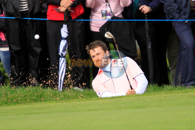Graeme McDowell at the Thursday Practice day at the 2010 Ryder Cup, Celtic Manor, Newport, Wales, Thursday 30th September 2010..(Picture Manus O'Reilly/www.golffile.ie)