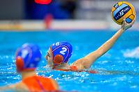 2 NED MEGENS Maud Netherlands <br />  <br /> Budapest 13/01/2020 Duna Arena <br /> GERMANY (white caps) Vs. NETHERLANDS (blue caps)<br /> XXXIV LEN European Water Polo Championships 2020<br /> Photo  © Andrea Staccioli / Deepbluemedia / Insidefoto