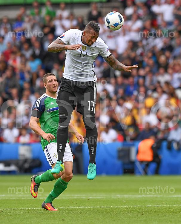 FUSSBALL EURO 2016 GRUPPE C IN PARIS Nordirland - Deutschland     21.06.2016 Jerome Boateng  (Deutschland)