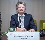 BRUSSELS - BELGIUM - 25 November 2016 -- European Training Foundation (ETF) Governing Board meeting. Reinhard Nöbauer, Senior Expert Vocational Education and Training - Federal Ministry of Education and Women's Affairs. -- . -- PHOTO: Juha ROININEN / EUP-IMAGES