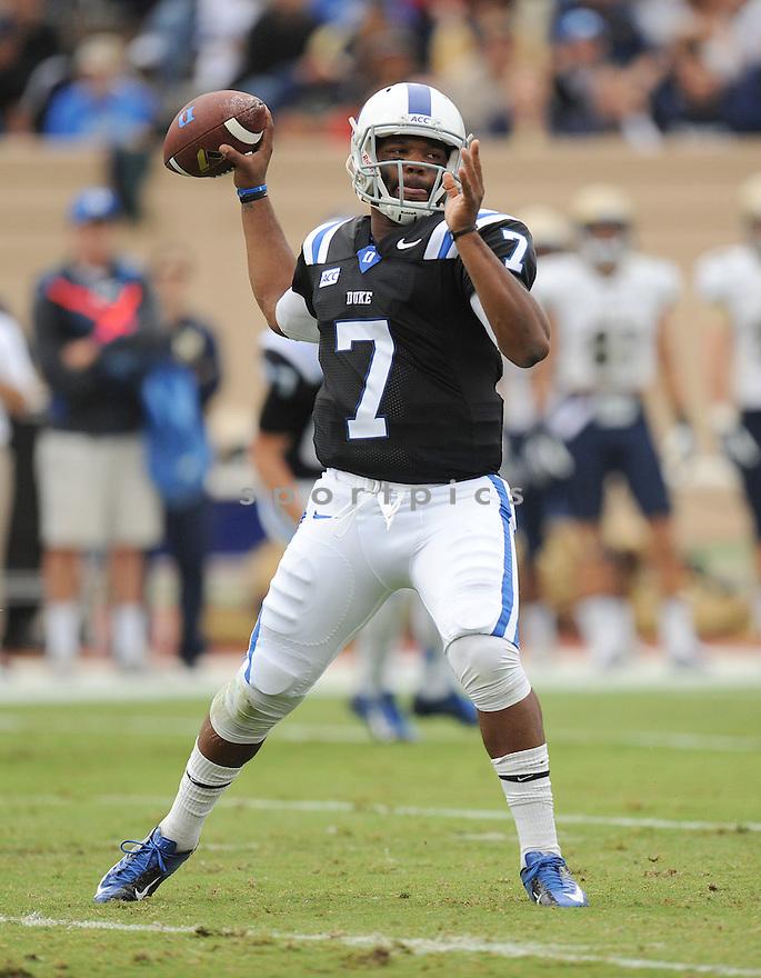 Navy @  Duke<br /> <br /> NCAA Division 1 Men's College Football<br /> Duke 35  Navy 7<br /> October 12, 2013