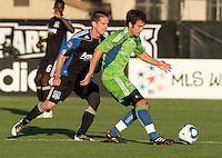 San Jose Earthquakes vs Seattle Sounders FC July 31 2010