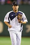 Yoshitomo Tsutsugo (JPN),<br /> NOVEMBER 15, 2014 - Baseball : <br /> 2014 All Star Series Game 3 between Japan 4-0 MLB All Stars <br /> at Tokyo Dome in Tokyo, Japan. <br /> (Photo by Shingo Ito/AFLO SPORT)[1195]