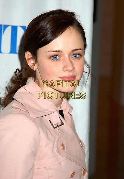 "ALEXIS BLEDEL.""Gilmore Girls"" 100th Episode Celebration held at the Museum of Television and Radio, Beverly Hills, California, USA, 07 February 2005..portrait headshot.Ref: ADM.www.capitalpictures.com.sales@capitalpictures.com.©Laura Farr/AdMedia/Capital Pictures ."