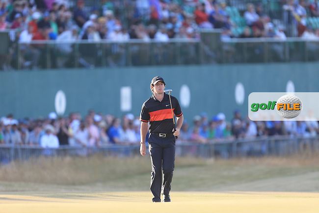 Rory MCILROY (NIR) during round two of  The 142th Open Championship Muirfield, Gullane, East Lothian, Scotland 19/7/2013<br /> Picture Fran Caffrey www.golffile.ie: