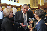 Cocktail Reception for Yale University Athletics Blue Leadership 2009 Honorees. Kiphuth Trophy Room, Payne Whitney Gym on 20 November '09.
