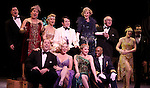Blythe Danner Returns to Broadway: Ensemble Cast .during the Curtain Call for 'Nice Work If You Can Get It'  at the Imperial Theatre in New York City on December 19, 2012