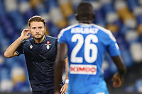 Ciro Immobile of SS Lazio dejection<br /> during the Serie A football match between SSC  Napoli and SS Lazio at stadio San Paolo in Naples ( Italy ), August 01st, 2020. Play resumes behind closed doors following the outbreak of the coronavirus disease. <br /> Photo Cesare Purini / Insidefoto