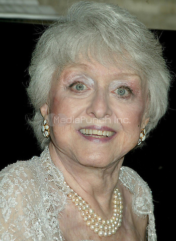Celeste Holm pictured attending Celeste Holm's 90th Birthday Party at Tony's Di Napoli Times Square Restaurant in New York City. April 29, 2007 © Joseph Marzullo / MediaPunch