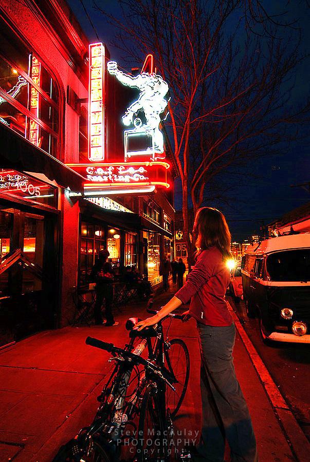 Cafe Vita, Capitol Hill, Seattle, WA.