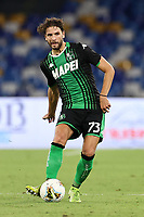 Manuel Locatelli US Sassuolo<br /> during the Serie A football match between SSC  Napoli and US Sassuolo at stadio San Paolo in Naples ( Italy ), July 25th, 2020. Play resumes behind closed doors following the outbreak of the coronavirus disease. <br /> Photo Cesare Purini / Insidefoto