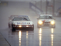 The #94 Chevrolet Corvette of John Heinracy, Stuart Hayner, and Andy Pilgrim races in the rain to a 14th place finish in the 12 Hours of Sebring, Sebring International Raceway, Sebring, FL, March 20, 1993.  (Photo by Brian Cleary/www.bcpix.com)