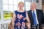 Kathleen Burns nee O'Shea from Emlagh, Ballinskelligs with her husband Michael Burns from Monaghan and living in Whiting New Jersey on their holiday home to celebrate their 50th Wedding Anniversary which was held in the Ring of Kerry Hotel on Saturday night with family and friends.