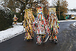 Otterbourne Mummers traditional Christmas Mumming Play Otterbourne Hampshire UK 2010