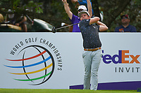 Cameron Smith (USA) watches his tee shot on 13 during round 3 of the WGC FedEx St. Jude Invitational, TPC Southwind, Memphis, Tennessee, USA. 7/27/2019.<br /> Picture Ken Murray / Golffile.ie<br /> <br /> All photo usage must carry mandatory copyright credit (© Golffile | Ken Murray)