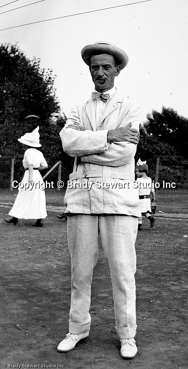 Erie PA:  Brady Stewart's brother-in-law looking dapper while out for an afternoon stroll - 1915.