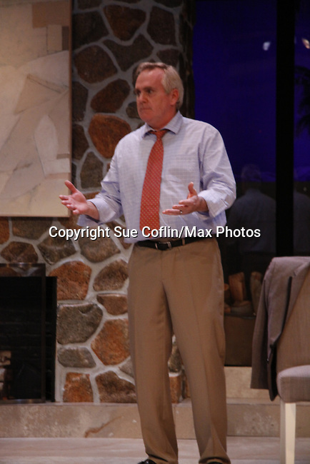 "Malachy Cleary in ""Other Desert Cities"" at the tech rehearsal (in costume) on October 14, 2015 atr Whippoorwill Halll Thetre, North Castle Library, Kent Place, Armonk, New York.  (Photo by Sue Coflin/Max Photos)"