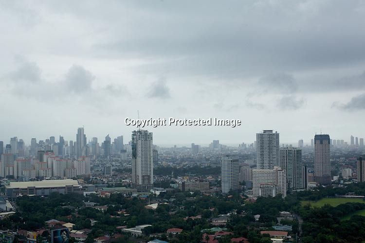 An aerial view of Metro Manila, Philippines. Photo: Sanjit Das