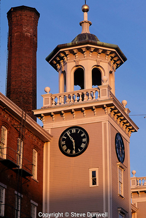 Boott Mill stair tower, Lowell, MA