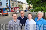 Members of the Castleisland Development association Bill Costello, Cormck O'Mahony, Jeremy Bourke and Joe Walsh.