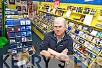 Brian Lee from Lee Records in Castle Street, Tralee who shut the doors this week.