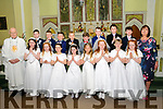 M/s Kerry Law's Class from Coolard NS who received their 1st communion  from Fr. John Lawlor in Balllydonoghue Church on Saturday last.