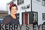 Martha Fleming outside her new Unisex Hair Salon in Killorglin