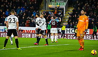 Fulham players react to going 2-1 down<br /> <br /> Photographer Alex Dodd/CameraSport<br /> <br /> The Premier League - Burnley v Fulham - Saturday 12th January 2019 - Turf Moor - Burnley<br /> <br /> World Copyright © 2019 CameraSport. All rights reserved. 43 Linden Ave. Countesthorpe. Leicester. England. LE8 5PG - Tel: +44 (0) 116 277 4147 - admin@camerasport.com - www.camerasport.com
