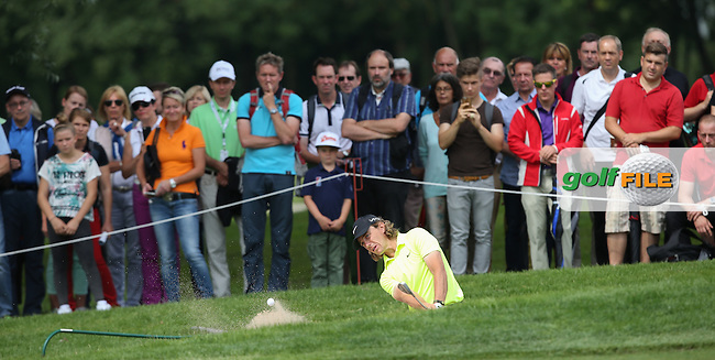 Bunker for Tommy Fleetwood (ENG) during Round Three of the 2015 BMW International Open at Golfclub Munchen Eichenried, Eichenried, Munich, Germany. 27/06/2015. Picture David Lloyd | www.golffile.ie