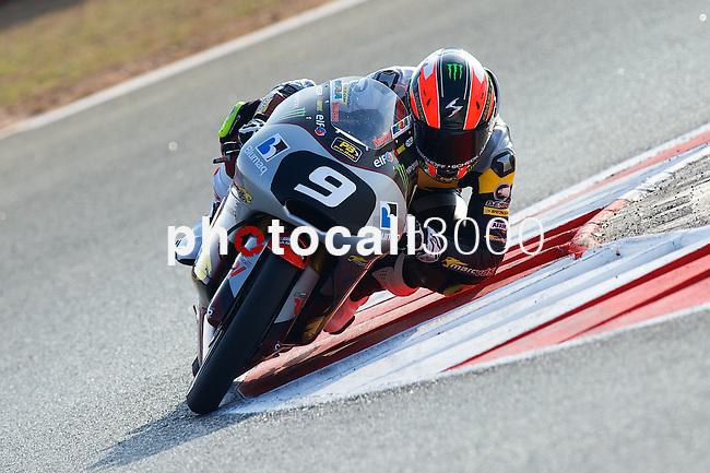 FIM CEV REPSOL in Navarra during the Spanish Championship 2014.<br /> Los Arcos, navarra, spain<br /> September 07, 2014. <br /> Moto3<br /> jorge navarro<br /> PHOTOCALL3000/ RME