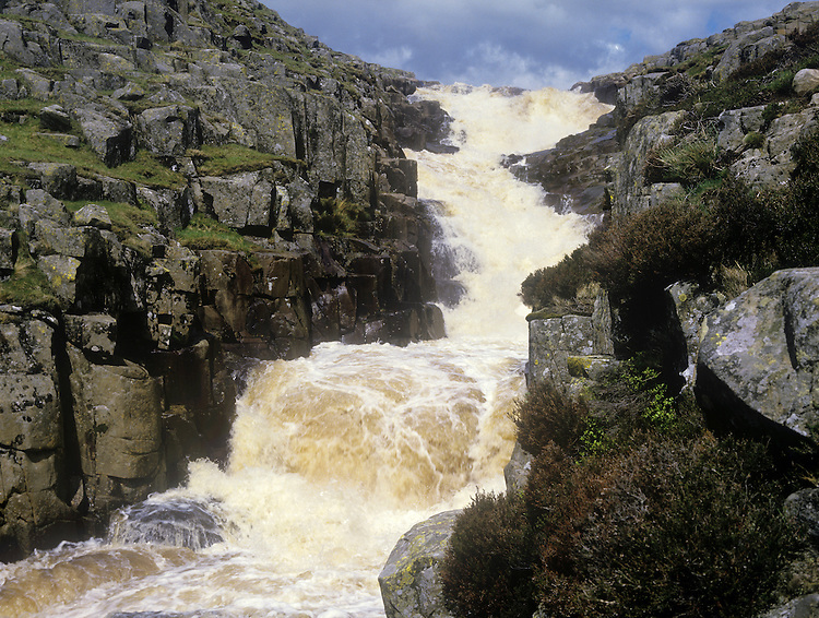 Cauldron Snout, Upper Teesdale, County Durham, UK