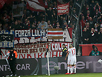 12.01.2018, Bay - Arena, Leverkusen, GER, 1.FBL, Bayer 04 Leverkusen vs FC Bayern M&uuml;nchen<br /> , im Bild<br />Franck Rib&eacute;ry (M&uuml;nchen) jubelt nach seinem Tor zum 2:0<br /> Foto &copy; nordphoto / Bratic